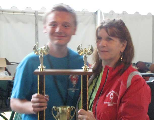 Quinten Campbell Spirit  Award presented to Braeden Fediuk