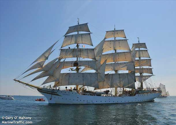 The tall ship Soerlandet is headed to Thunder Bay for Lake Superior Day