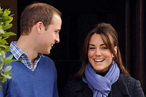 William and Kate as they head to the hospital - Photo Buckingham Palace