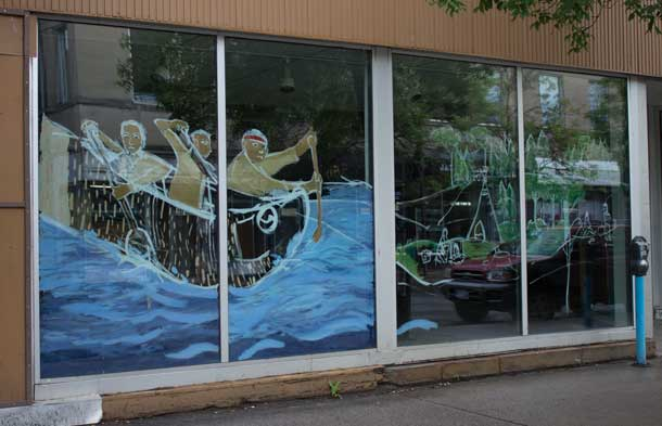 Window Painting in Thunder Bay
