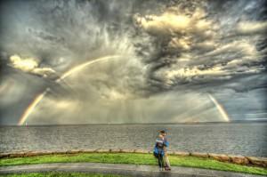 "Patricia and David. Photographer David Bresolin says, ""I call this picture 'Dreams Do Come True' ""."