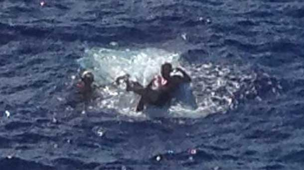 US Coast Guard rescues Anthony Wickman