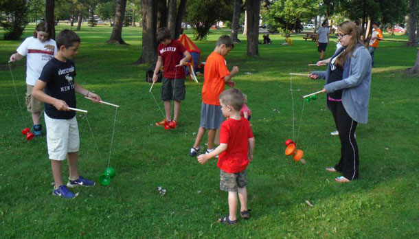 Fun at Vickers Park in Thunder Bay Tuesday Nights from 708:30PM