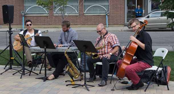 Robin Ranger in McGillivray Square to share beautiful music at City Hall Sounds