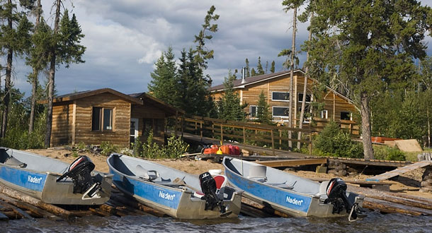 Fishing Camps in Northwestern Ontario could easily supply the challenge for new fishing enthusiasts - Photo Courtesy Wasaya Wild