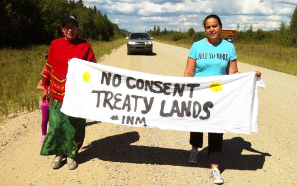 Idle No More, Treaty 6