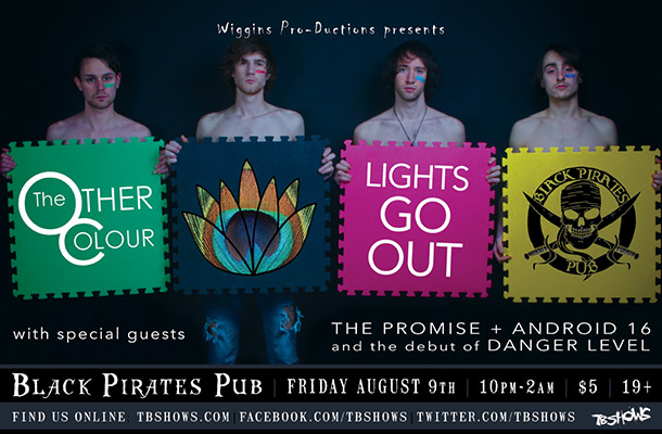 Poster for The Other Colour's Lights Go Out show