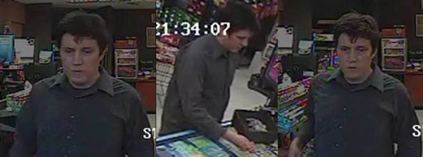 Thunder Bay Police Seek This Suspect in a Robbery of a Mac's Convenience Store on Simpson Street