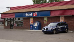 Mac's Mart on Simpson Street was robbed at 10:30PM last night.Mac's Mart on Simpson Street was robbed at 10:30PM last night.