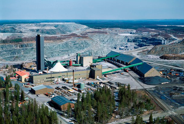 Kemi Chromite Mine in northern Finland (Photo Outokumpu Group)