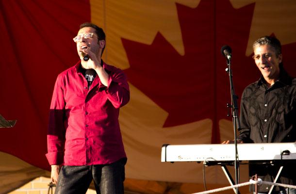 Pino Giano Hits the main stage at Festa Italiana