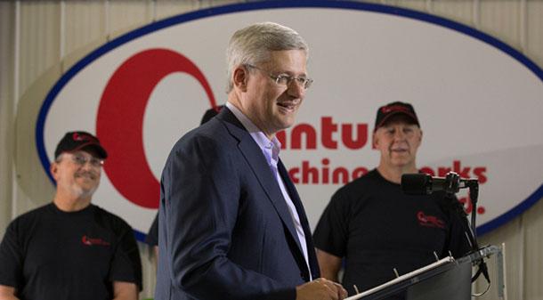 Prime Minister Harper