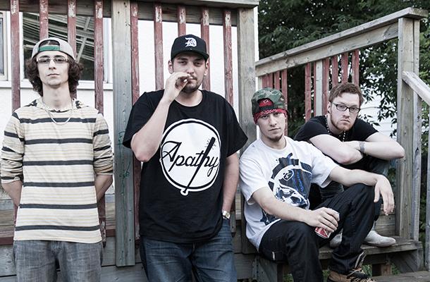 Beatfarm: Tim Cheppenko, Brady Gurney, Giordano Ruberto, Jordan Danielsson. Photo by Scott Hobbs
