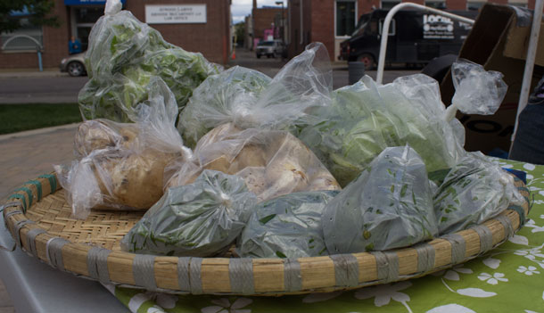 Roots to Harvest offering tasty fresh vegetables at City Hall