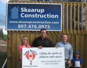 Strongman Donation to Camp Quality