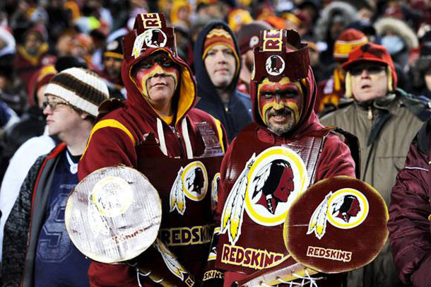 Washington Redskins - Photo published in Slate Magazine
