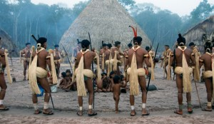 he four-month long Yãkwa fishing ritual of Brazil's Enawene Nawe tribe, during which food is exchanged between the tribe and the subterranean spiritshe four-month long Yãkwa fishing ritual of Brazil's Enawene Nawe tribe, during which food is exchanged between the tribe and the subterranean spirits