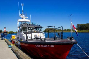 Canadian Coast Guard was onsite at Riverfest