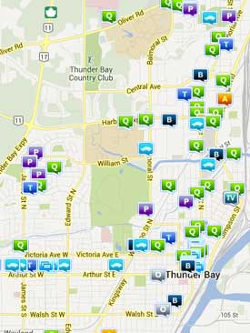 South Side crime map from the weekend