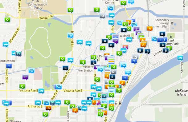 Crime Map shows what the Thunder Bay Police are responding to in Thunder Bay.