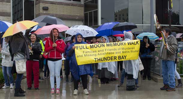 9th Full Moon Memory Walk getting underway at City Hall in Thunder Bay
