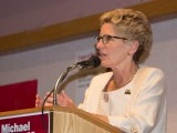 Premier Kathleen Wynne Speaking in Thunder Bay.