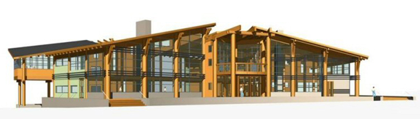 Proposed Goat's Eye Mountain Day Lodge at Sunshine Village