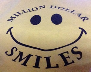Million Dollar Smiles is a non-profit organization that exists to put smiles on the faces of children navigating life threatening illnesses and medical adversity in their everyday life. The cumulative efforts of our loyal community volunteers helps Million Dollar Smiles raise money to support gift-giving programs and special events for our MDS children and families.