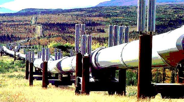Pipeline petroleum
