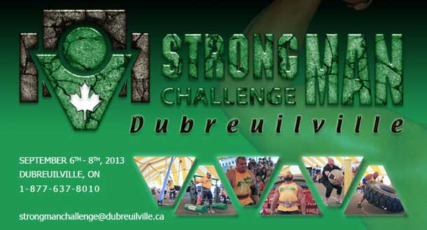 Another big strongman weekend for Thunder Bay athletes as several home town strongmen made their way to the 12th annual Dubreuilville Strongman Challenge.
