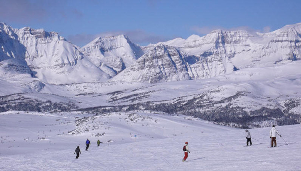 Sunshine Village in Alberta boasts Canada's best snow.