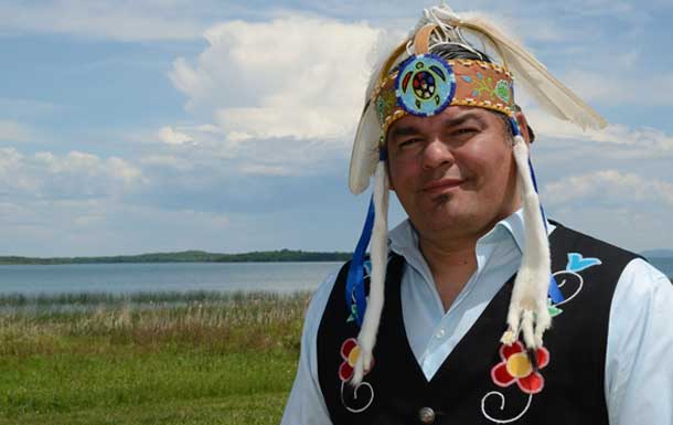 Chief Isadore Day - Image from Anishinabek News