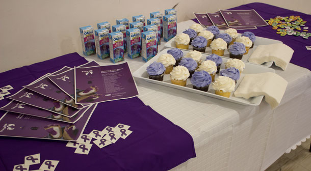 Treats for the youth at the Child Abuse Prevention Month launch