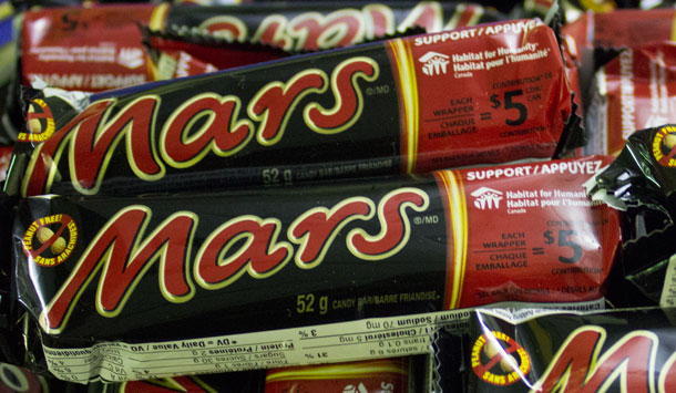 Support Habitat for Humanity - Enter the Code off your Mars Bar and Habitat for Humanity gets $5