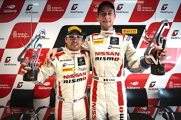Wolfie and Steve won GT Academy Europe and the U.S. respectively in 2012 and just 12 months on are battling for top honors in an international category.