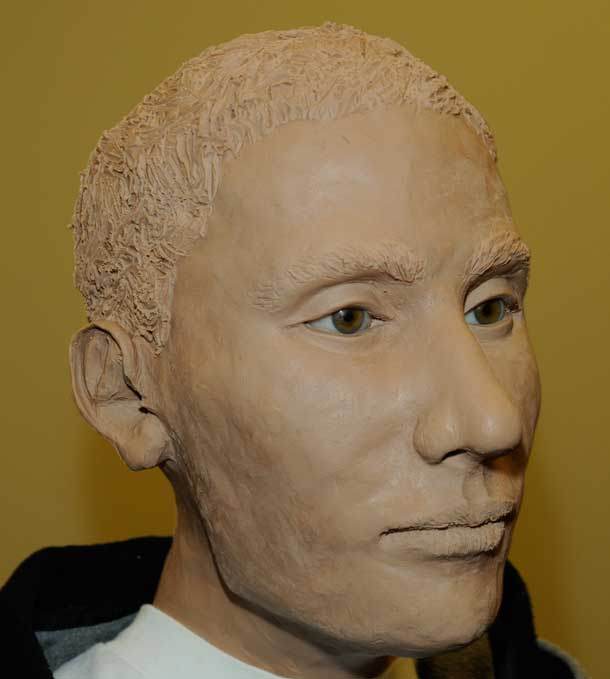 The Calgary Medical Examiner's office has ruled that the remains are those of a Caucasian male aged between 20 and 60 years. The Medical Examiner discovered that the male had once suffered a broken nose that had healed. The Medical Examiner suggests that the remains had been decomposing for less than a year prior to October 13, 2012.