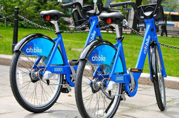 Support of the Citi Bike program in New York have set records for use of the bikes.