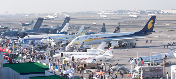 Many aircraft will be on static display at the Dubai Airshow