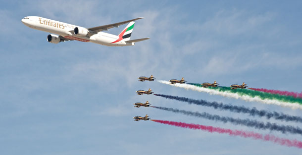 Dubai Airshow is open only to professional and trade visitors.