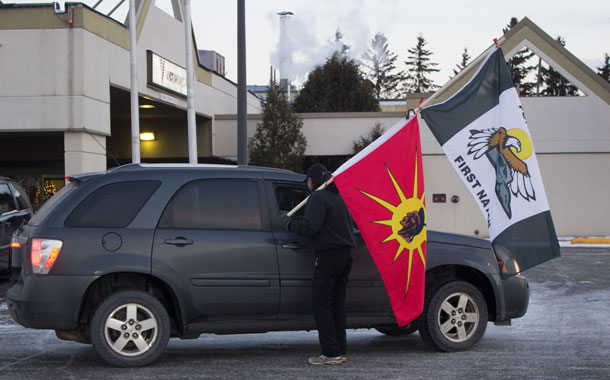 Fort William First Nation along the Spiritually important Nor'Westers in Northern Ontario