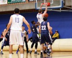 Thunderwolves Men Win in B-Ball Action