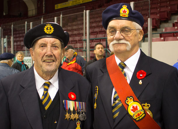 The faces of Canada - Veterans represent the best of our country
