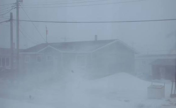 Attawapiskat has been hit with a major storm with powerful winds this week.