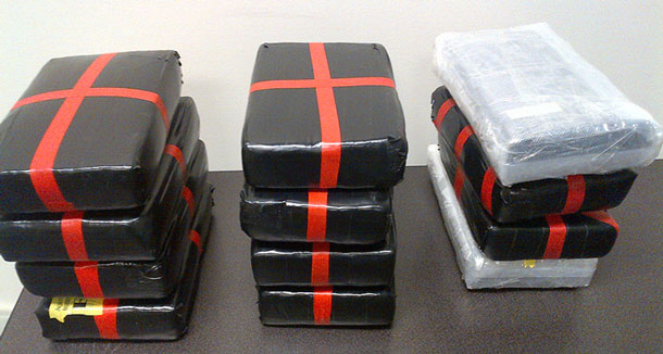 CBSA and the RCMP have seized 14 kilos of cocaine.