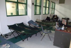 Power was knocked out in Attawapiskat and temporary shelter was found for residents.