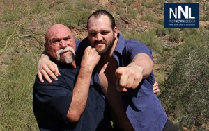 Wrestling Icon Superstar Billy Graham has been the mentor and assisted Devon Nicholson in his battle. A great Tag Team!