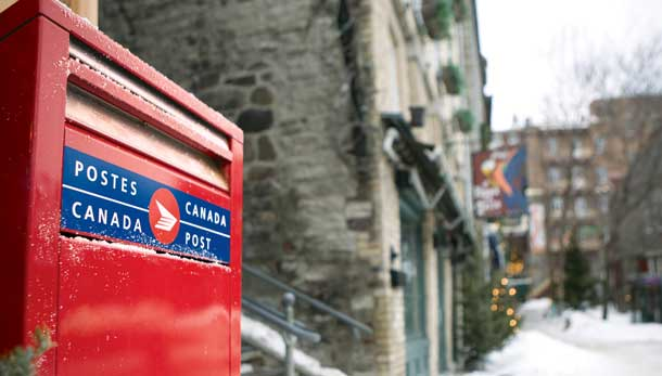 Canada Post is upping the price of stamps, reducing door-to-door mail delivery and changing operations.