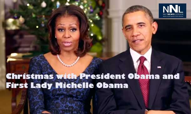 President Obama and First Lady Michelle Obama reflect on Christmas from the White House