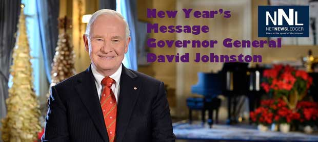 Governor General David Johnston 2014 New Year's Message