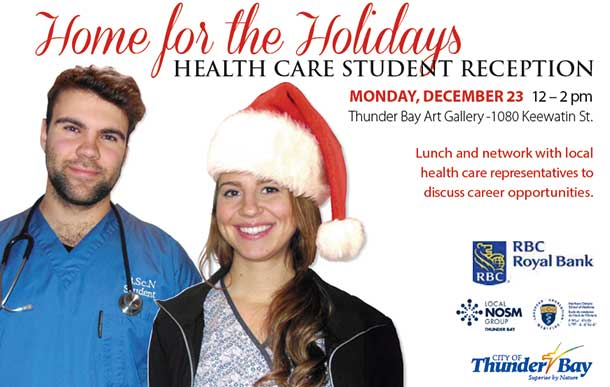Home for the Holidays? How about staying in Thunder Bay for a career and family?